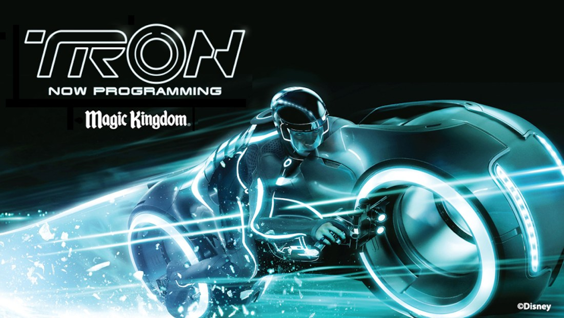 TRON Attraction Billboard - Magic Kingdom