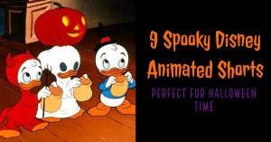 9 Spooky Disney Animated Shorts