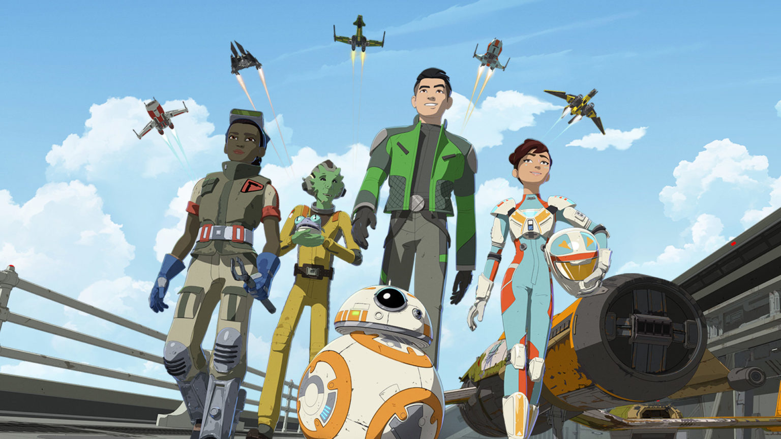 New Star Wars Resistance Featurettes Introduces the Newest Characters Found in a Galaxy Far, Far Away!