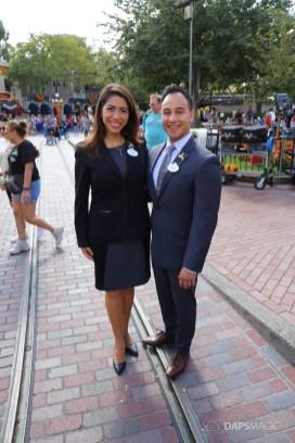 2017-2018 Disneyland Resort Ambassador Team - Mikey Trujillo and Alexa Garcia