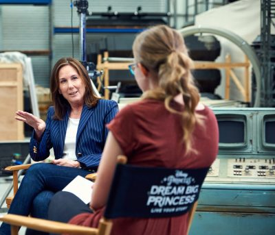 #DreamBigPrincess Interview with Kathleen Kennedy
