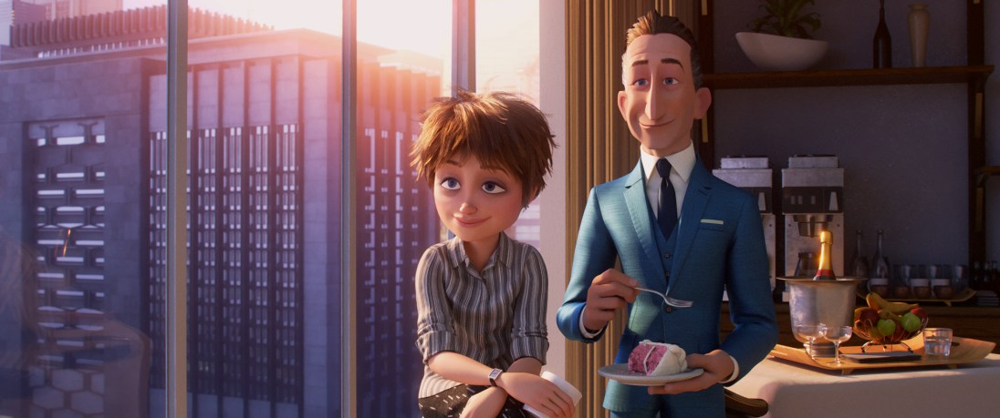 """OPPORTUNITY KNOCKS – In """"Incredibles 2,"""" siblings Winston and Evelyn Deavor are huge fans of the Supers andstarta campaign to improve their public image and ultimately bring them back. Featuring the voices of Catherine Keener as the brilliantandlaid-back Evelyn Deavor, and Bob Odenkirk as the ultra-wealthy and savvy Winston Deavor, """"Incredibles 2"""" opens in U.S. theaters on June 15, 2018. ©2018 Disney•Pixar. All Rights Reserved."""
