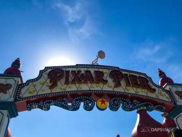 Pixar Lamp at Pixar Pier in the Disneyland Resort-2