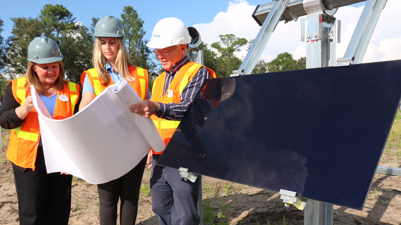 Construction Begins on The New Solar Facility that Will Provide Power to Walt Disney World Resort