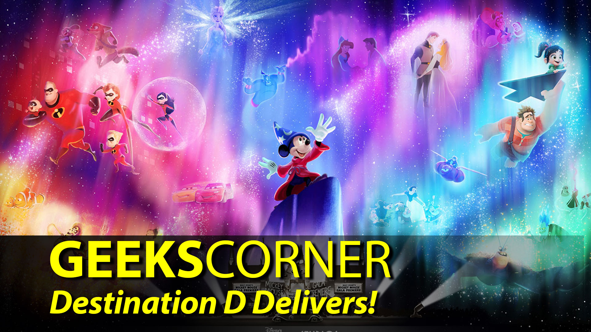 Destination D Delivers! – GEEKS CORNER – Episode 908