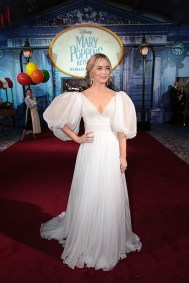 Emily Blunt attends The World Premiere of Disney's Mary Poppins Returns at the Dolby Theatre in Hollywood, CA on Wednesday, November 29, 2018 (Photo: Alex J. Berliner/ABImages)