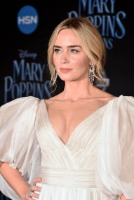 HOLLYWOOD, CA - NOVEMBER 29: Actor Emily Blunt attends Disney's 'Mary Poppins Returns' World Premiere at the Dolby Theatre on November 29, 2018 in Hollywood, California. (Photo by Alberto E. Rodriguez/Getty Images for Disney) *** Local Caption *** Emily Blunt