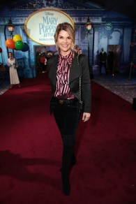Lori Loughlin attends The World Premiere of Disney's Mary Poppins Returns at the Dolby Theatre in Hollywood, CA on Wednesday, November 29, 2018 (Photo: Alex J. Berliner/ABImages)