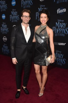 HOLLYWOOD, CA - NOVEMBER 29: Matthew Morrison (L) and Renee Morrison attend Disney's 'Mary Poppins Returns' World Premiere at the Dolby Theatre on November 29, 2018 in Hollywood, California. (Photo by Alberto E. Rodriguez/Getty Images for Disney) *** Local Caption *** Matthew Morrison; Renee Morrison