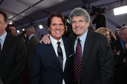 Rob Marshall and Alan F. Horn attend The World Premiere of Disney's Mary Poppins Returns at the Dolby Theatre in Hollywood, CA on Wednesday, November 29, 2018 (Photo: Alex J. Berliner/ABImages)