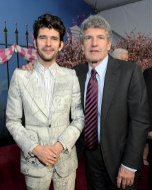 HOLLYWOOD, CA - NOVEMBER 29: Actor Ben Whishaw (L) and Chairman, The Walt Disney Studios, Alan Horn attend Disney's 'Mary Poppins Returns' World Premiere at the Dolby Theatre on November 29, 2018 in Hollywood, California. (Photo by Charley Gallay/Getty Images for Disney) *** Local Caption *** Ben Whishaw; Alan Horn