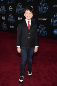 HOLLYWOOD, CA - NOVEMBER 29: Iain Armitage attends Disney's 'Mary Poppins Returns' World Premiere at the Dolby Theatre on November 29, 2018 in Hollywood, California. (Photo by Alberto E. Rodriguez/Getty Images for Disney) *** Local Caption *** Iain Armitage