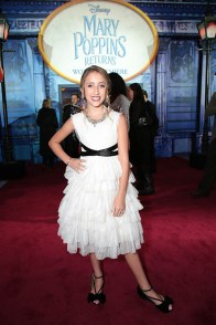 Ava Kolker attends The World Premiere of Disney's Mary Poppins Returns at the Dolby Theatre in Hollywood, CA on Wednesday, November 29, 2018 (Photo: Alex J. Berliner/ABImages)