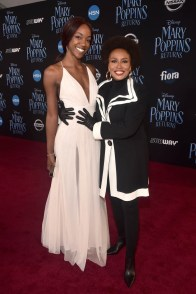 HOLLYWOOD, CA - NOVEMBER 29: Charmaine Lewis (L) and Jenifer Lewis attend Disney's 'Mary Poppins Returns' World Premiere at the Dolby Theatre on November 29, 2018 in Hollywood, California. (Photo by Alberto E. Rodriguez/Getty Images for Disney) *** Local Caption *** Jenifer Lewis; Charmaine Lewis