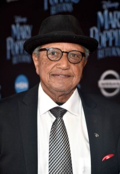 HOLLYWOOD, CA - NOVEMBER 29: Floyd Norman attends Disney's 'Mary Poppins Returns' World Premiere at the Dolby Theatre on November 29, 2018 in Hollywood, California. (Photo by Alberto E. Rodriguez/Getty Images for Disney) *** Local Caption *** Floyd Norman