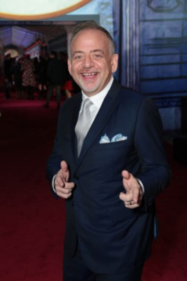 Marc Shaiman attends The World Premiere of Disney's Mary Poppins Returns at the Dolby Theatre in Hollywood, CA on Wednesday, November 29, 2018 (Photo: Alex J. Berliner/ABImages)