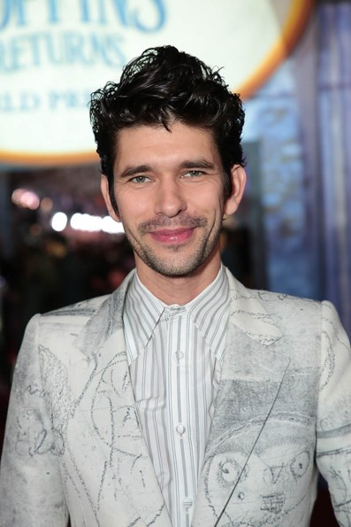Ben Whishaw attends The World Premiere of Disney's Mary Poppins Returns at the Dolby Theatre in Hollywood, CA on Wednesday, November 29, 2018 (Photo: Alex J. Berliner/ABImages)