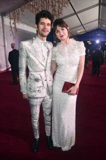 HOLLYWOOD, CA - NOVEMBER 29: Actors Ben Whishaw (L) and Emily Mortimer attend Disney's 'Mary Poppins Returns' World Premiere at the Dolby Theatre on November 29, 2018 in Hollywood, California. (Photo by Alberto E. Rodriguez/Getty Images for Disney) *** Local Caption *** Ben Whishaw; Emily Mortimer