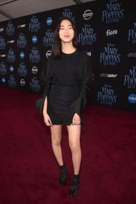 HOLLYWOOD, CA - NOVEMBER 29: Madison Hu attends Disney's 'Mary Poppins Returns' World Premiere at the Dolby Theatre on November 29, 2018 in Hollywood, California. (Photo by Alberto E. Rodriguez/Getty Images for Disney) *** Local Caption *** Madison Hu