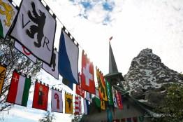 New Matterhorn Bobsleds Entrance and Queue at Disneyland-9