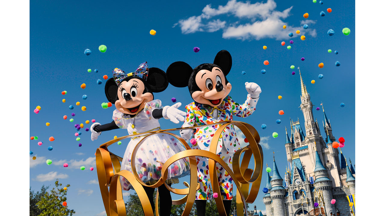 Get Ready for Mickey & Minnie's Surprise Celebration at Walt Disney World Resort Next Year