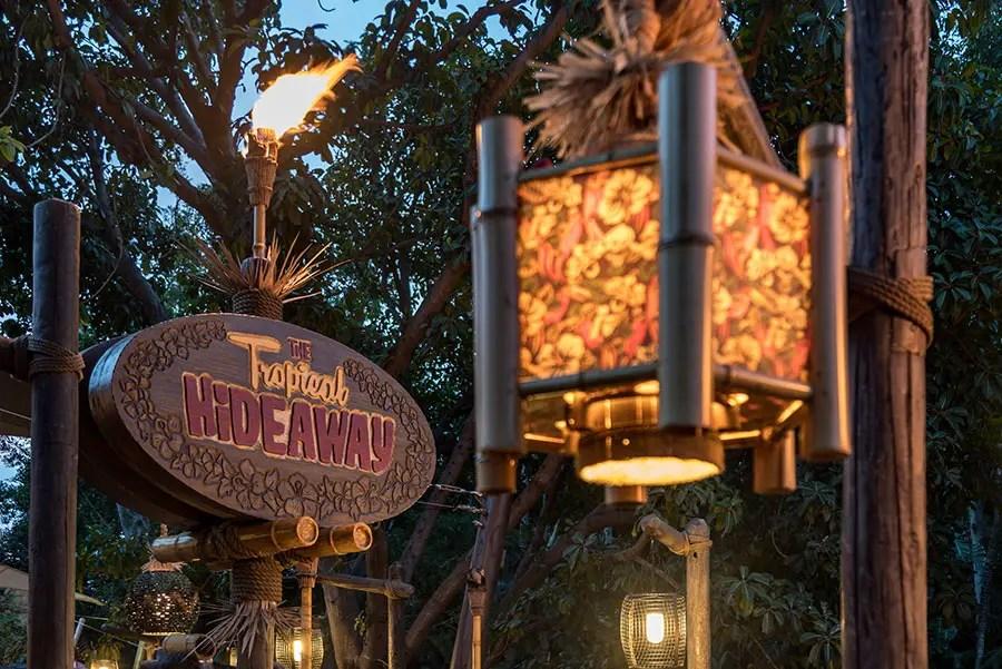 Get Your Exclusive First Look at Adventureland's Tropical Hideaway at Disneyland Resort