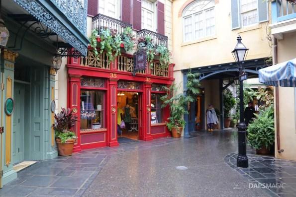 Rainy Day at the Disneyland Resort-128