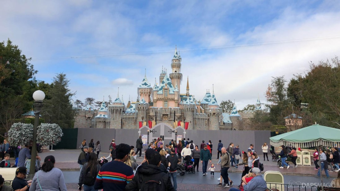 Sleeping Beauty Castle Refurbishment 2018 Disneyland