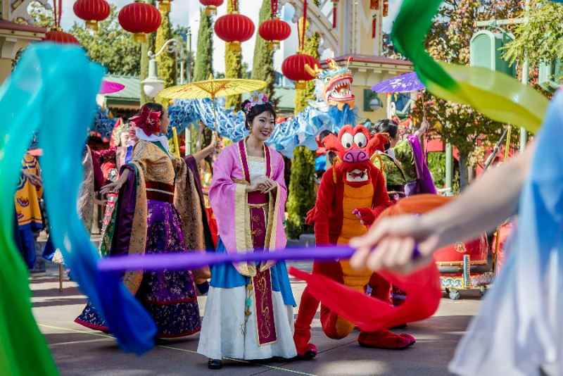 Lunar New Year - Disney California Adventure
