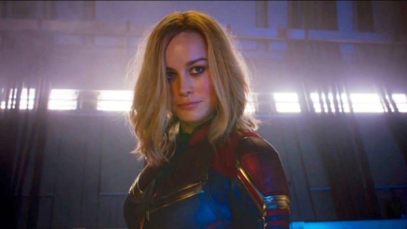 Captain Marvel Super Bowl Trailer