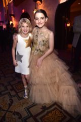 "HOLLYWOOD, CA - MARCH 04: (L-R) London Fuller and Mckenna Grace attend the Los Angeles World Premiere of Marvel Studios' ""Captain Marvel"" at Dolby Theatre on March 4, 2019 in Hollywood, California. (Photo by Alberto E. Rodriguez/Getty Images for Disney) *** Local Caption *** London Fuller; Mckenna Grace"