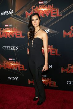 "HOLLYWOOD, CA - MARCH 04: Cesalina Gracie attends the Los Angeles World Premiere of Marvel Studios' ""Captain Marvel"" at Dolby Theatre on March 4, 2019 in Hollywood, California. (Photo by Jesse Grant/Getty Images for Disney) *** Local Caption *** Cesalina Gracie"
