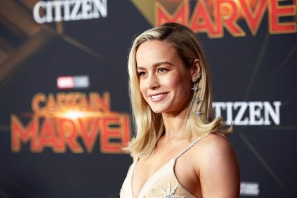 "HOLLYWOOD, CA - MARCH 04: Actor Brie Larson attends the Los Angeles World Premiere of Marvel Studios' ""Captain Marvel"" at Dolby Theatre on March 4, 2019 in Hollywood, California. (Photo by Jesse Grant/Getty Images for Disney) *** Local Caption *** Brie Larson"