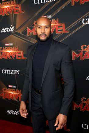 "HOLLYWOOD, CA - MARCH 04: Actor Henry Simmons attends the Los Angeles World Premiere of Marvel Studios' ""Captain Marvel"" at Dolby Theatre on March 4, 2019 in Hollywood, California. (Photo by Jesse Grant/Getty Images for Disney) *** Local Caption *** Henry Simmons"