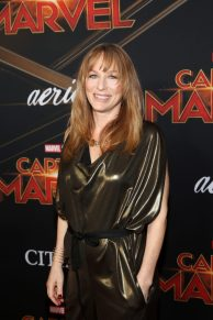 """HOLLYWOOD, CA - MARCH 04: Marvel Casting Director Sarah Finn attends the Los Angeles World Premiere of Marvel Studios' """"Captain Marvel"""" at Dolby Theatre on March 4, 2019 in Hollywood, California. (Photo by Jesse Grant/Getty Images for Disney) *** Local Caption *** Sarah Finn"""
