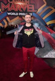 """HOLLYWOOD, CA - MARCH 04: Actor Sean Gunn attends the Los Angeles World Premiere of Marvel Studios' """"Captain Marvel"""" at Dolby Theatre on March 4, 2019 in Hollywood, California. (Photo by Alberto E. Rodriguez/Getty Images for Disney) *** Local Caption *** Sean Gunn"""