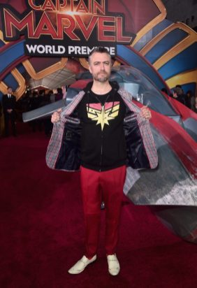 "HOLLYWOOD, CA - MARCH 04: Actor Sean Gunn attends the Los Angeles World Premiere of Marvel Studios' ""Captain Marvel"" at Dolby Theatre on March 4, 2019 in Hollywood, California. (Photo by Alberto E. Rodriguez/Getty Images for Disney) *** Local Caption *** Sean Gunn"
