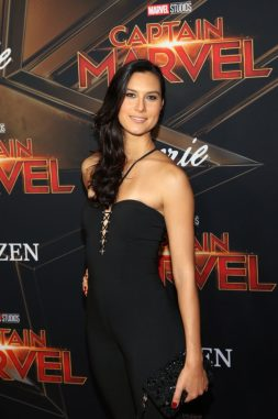 """HOLLYWOOD, CA - MARCH 04: Cesalina Gracie attends the Los Angeles World Premiere of Marvel Studios' """"Captain Marvel"""" at Dolby Theatre on March 4, 2019 in Hollywood, California. (Photo by Jesse Grant/Getty Images for Disney) *** Local Caption *** Cesalina Gracie"""