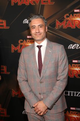 "HOLLYWOOD, CA - MARCH 04: Director Taika Waititi attends the Los Angeles World Premiere of Marvel Studios' ""Captain Marvel"" at Dolby Theatre on March 4, 2019 in Hollywood, California. (Photo by Jesse Grant/Getty Images for Disney) *** Local Caption *** Taika Waititi"
