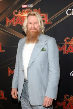 """HOLLYWOOD, CA - MARCH 04: Actor Rune Temte attends the Los Angeles World Premiere of Marvel Studios' """"Captain Marvel"""" at Dolby Theatre on March 4, 2019 in Hollywood, California. (Photo by Jesse Grant/Getty Images for Disney) *** Local Caption *** Rune Temte"""
