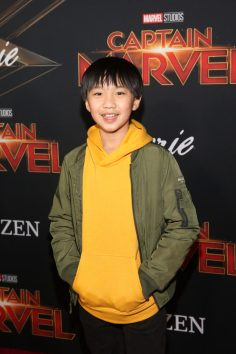 "HOLLYWOOD, CA - MARCH 04: Actor Ian Chen attends the Los Angeles World Premiere of Marvel Studios' ""Captain Marvel"" at Dolby Theatre on March 4, 2019 in Hollywood, California. (Photo by Jesse Grant/Getty Images for Disney) *** Local Caption *** Ian Chen"