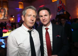 """HOLLYWOOD, CA - MARCH 04: (L-R) Actor Ben Mendelsohn and director/writer Ryan Fleck attend the Los Angeles World Premiere of Marvel Studios' """"Captain Marvel"""" at Dolby Theatre on March 4, 2019 in Hollywood, California. (Photo by Jesse Grant/Getty Images for Disney) *** Local Caption *** Ryan Fleck; Ben Mendelsohn"""