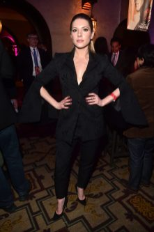"""HOLLYWOOD, CA - MARCH 04: Actor Katheryn Winnick attends the Los Angeles World Premiere of Marvel Studios' """"Captain Marvel"""" at Dolby Theatre on March 4, 2019 in Hollywood, California. (Photo by Alberto E. Rodriguez/Getty Images for Disney) *** Local Caption *** Katheryn Winnick"""