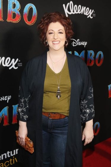 """LOS ANGELES, CA - MARCH 11: Rebecca Matz attends the World Premiere of Disney's """"Dumbo"""" at the El Capitan Theatre on March 11, 2019 in Los Angeles, California. (Photo by Jesse Grant/Getty Images for Disney) *** Local Caption *** Rebecca Matz"""