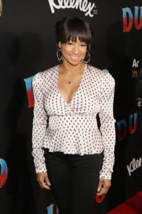 """LOS ANGELES, CA - MARCH 11: Monique Coleman attends the World Premiere of Disney's """"Dumbo"""" at the El Capitan Theatre on March 11, 2019 in Los Angeles, California. (Photo by Jesse Grant/Getty Images for Disney) *** Local Caption *** Monique Coleman"""