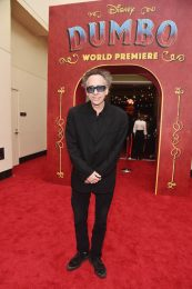 """LOS ANGELES, CA - MARCH 11: Director/executive producer Tim Burton attends the World Premiere of Disney's """"Dumbo"""" at the El Capitan Theatre on March 11, 2019 in Los Angeles, California. (Photo by Alberto E. Rodriguez/Getty Images for Disney) *** Local Caption *** Tim Burton"""