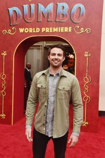 """LOS ANGELES, CA - MARCH 11: Jonathan Bennett attends the World Premiere of Disney's """"Dumbo"""" at the El Capitan Theatre on March 11, 2019 in Los Angeles, California. (Photo by Alberto E. Rodriguez/Getty Images for Disney) *** Local Caption *** Jonathan Bennett"""