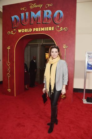"LOS ANGELES, CA - MARCH 11: Alicia Machado attends the World Premiere of Disney's ""Dumbo"" at the El Capitan Theatre on March 11, 2019 in Los Angeles, California. (Photo by Alberto E. Rodriguez/Getty Images for Disney) *** Local Caption *** Alicia Machado"