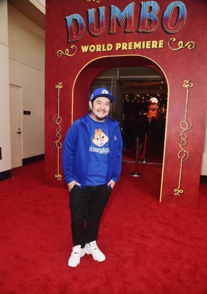 """LOS ANGELES, CA - MARCH 11: Eric Bauza attends the World Premiere of Disney's """"Dumbo"""" at the El Capitan Theatre on March 11, 2019 in Los Angeles, California. (Photo by Alberto E. Rodriguez/Getty Images for Disney) *** Local Caption *** Eric Bauza"""