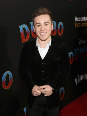 """LOS ANGELES, CA - MARCH 11: Edd Osmond attends the World Premiere of Disney's """"Dumbo"""" at the El Capitan Theatre on March 11, 2019 in Los Angeles, California. (Photo by Jesse Grant/Getty Images for Disney) *** Local Caption *** Edd Osmond"""